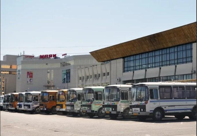 Автовокзал Омска